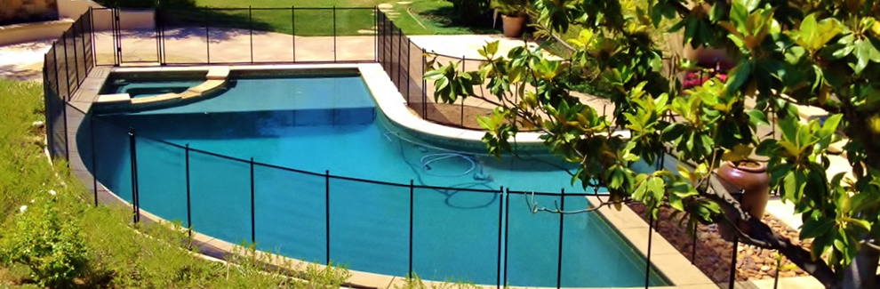 Pool Fence Removable Pool Fence Pool Covers Pool Mesh Fences Los Angeles