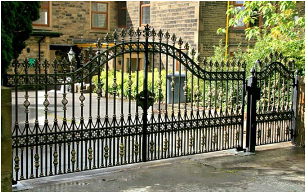 Wrought Gate Fence